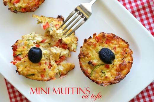 muffins cu tofu si legume