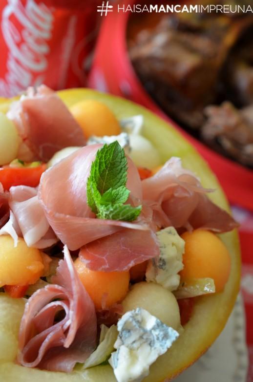 salata cu pepene galben