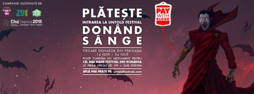 untold festival pay with blood