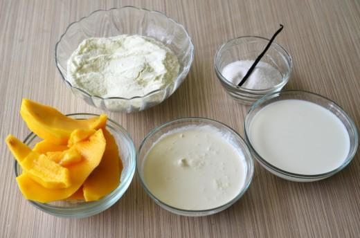 inghetata de mango
