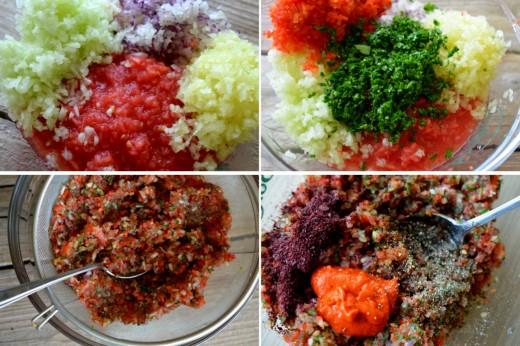 ezme salata turceasca de rosii