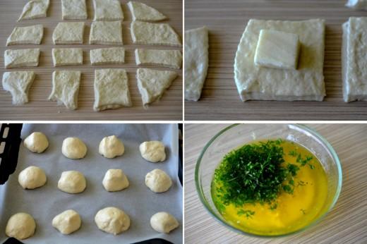 chifle cu mozzarella