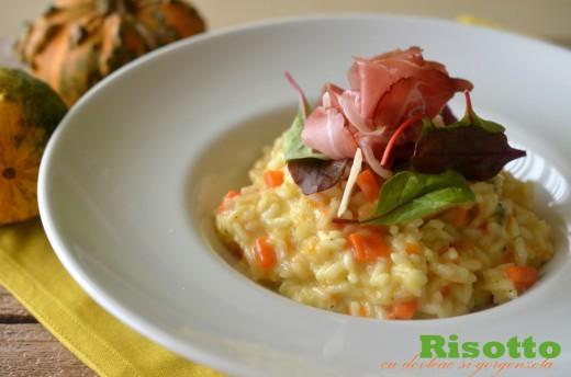 risotto cu dovleac si gorgonzola