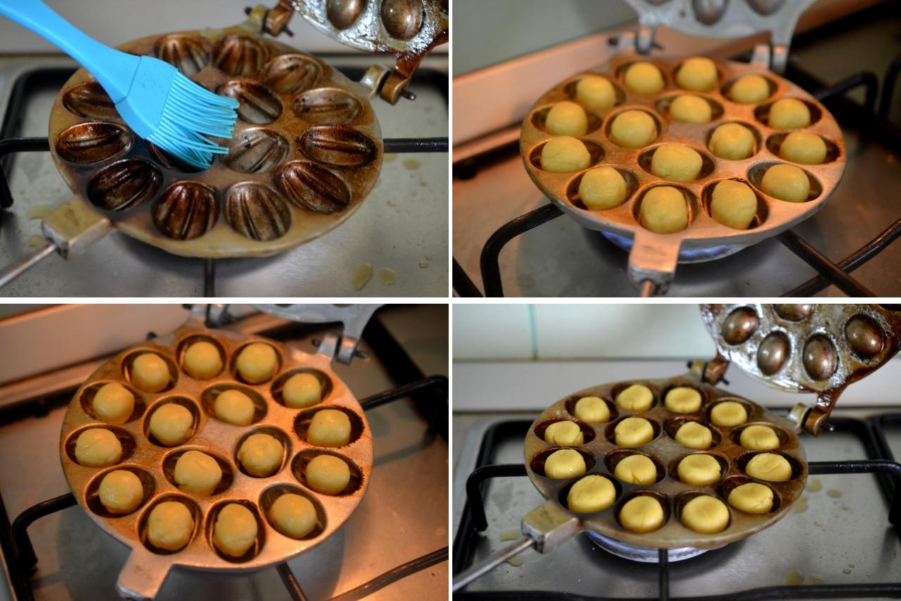 prajitura nuci cu crema