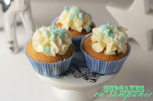 cupcakes cu sampanie