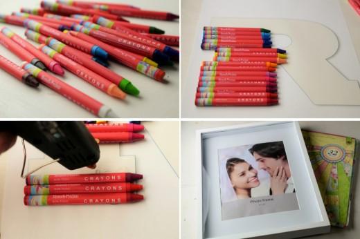 monograma-creioane-colorate