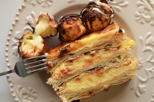 tort mille feuille
