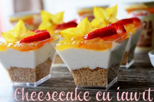 cheesecake cu iaurt
