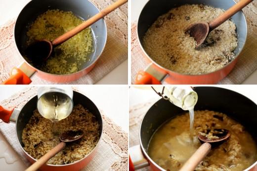 risotto cu sparanghel