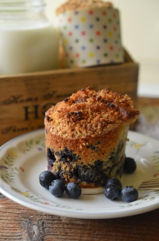 muffins crocante cu afine