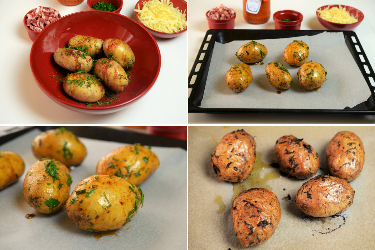 cartofi umpluti cu zacusca