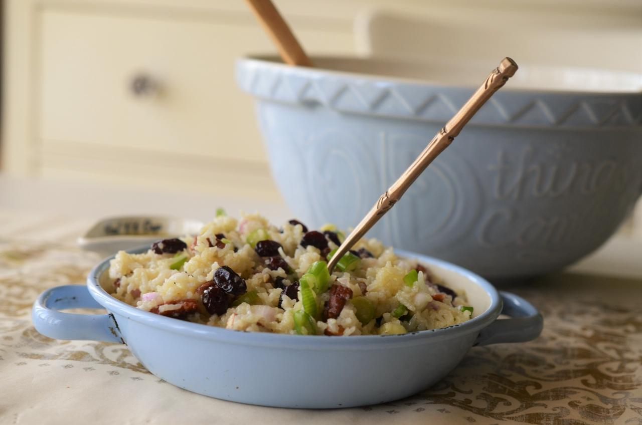 salata de orez basmati