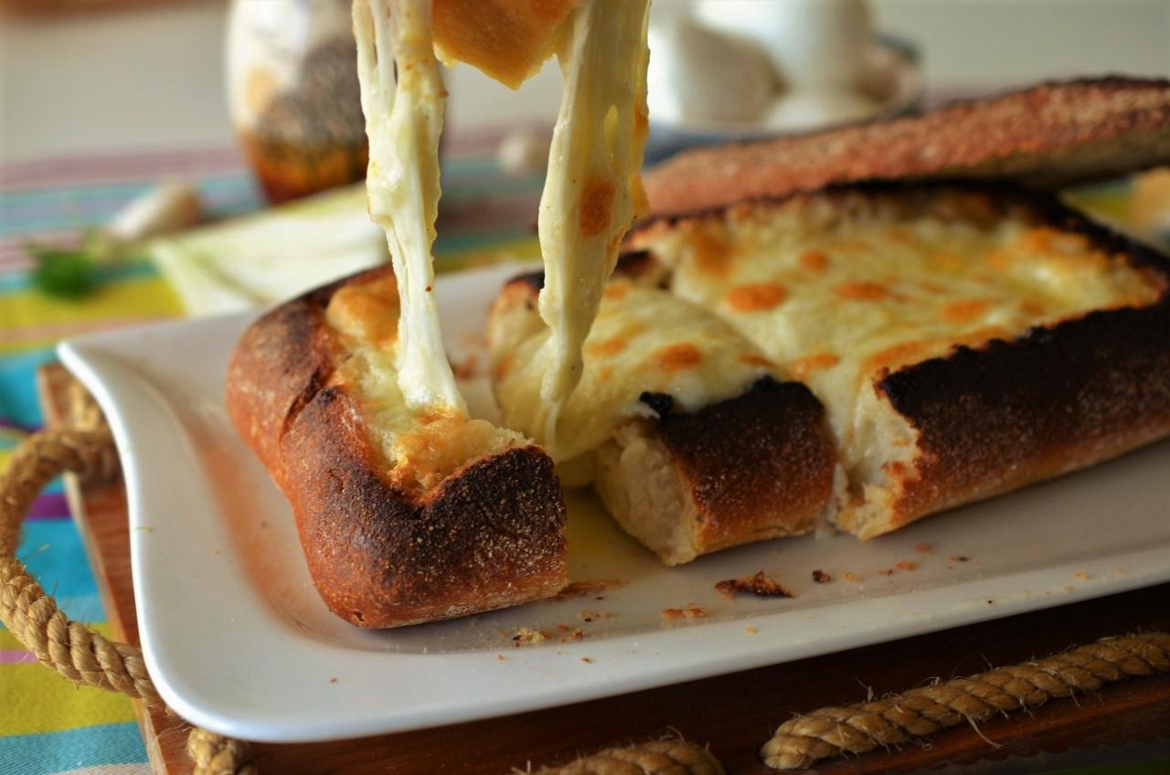 ciabatta cu mozzarella