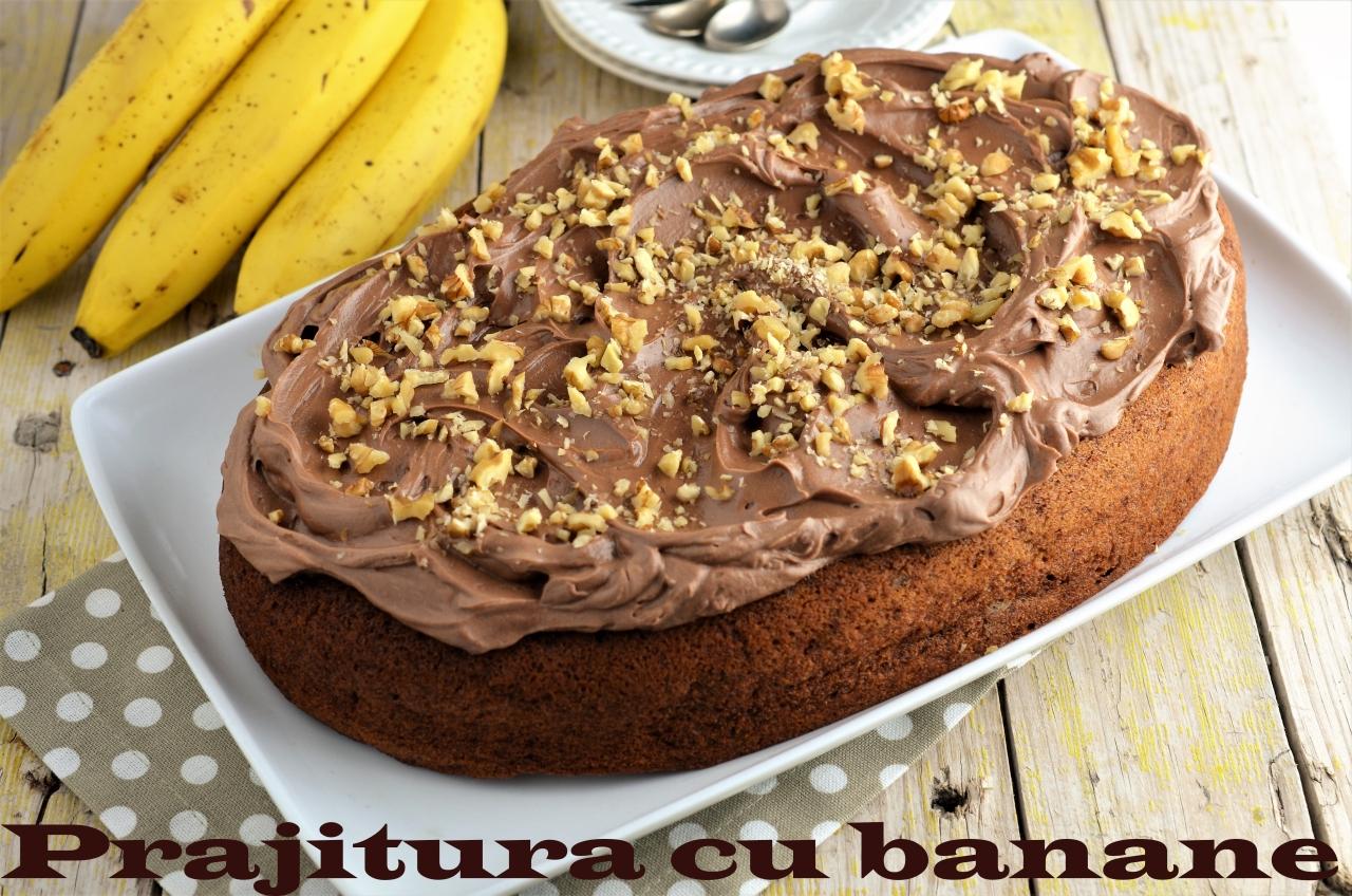 parjitura cu banane si ciocolata