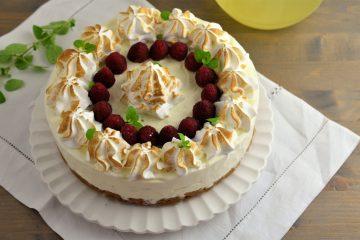 cheesecake cu lamaie si bezea