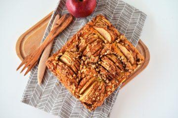 prajitura rapida cu mere