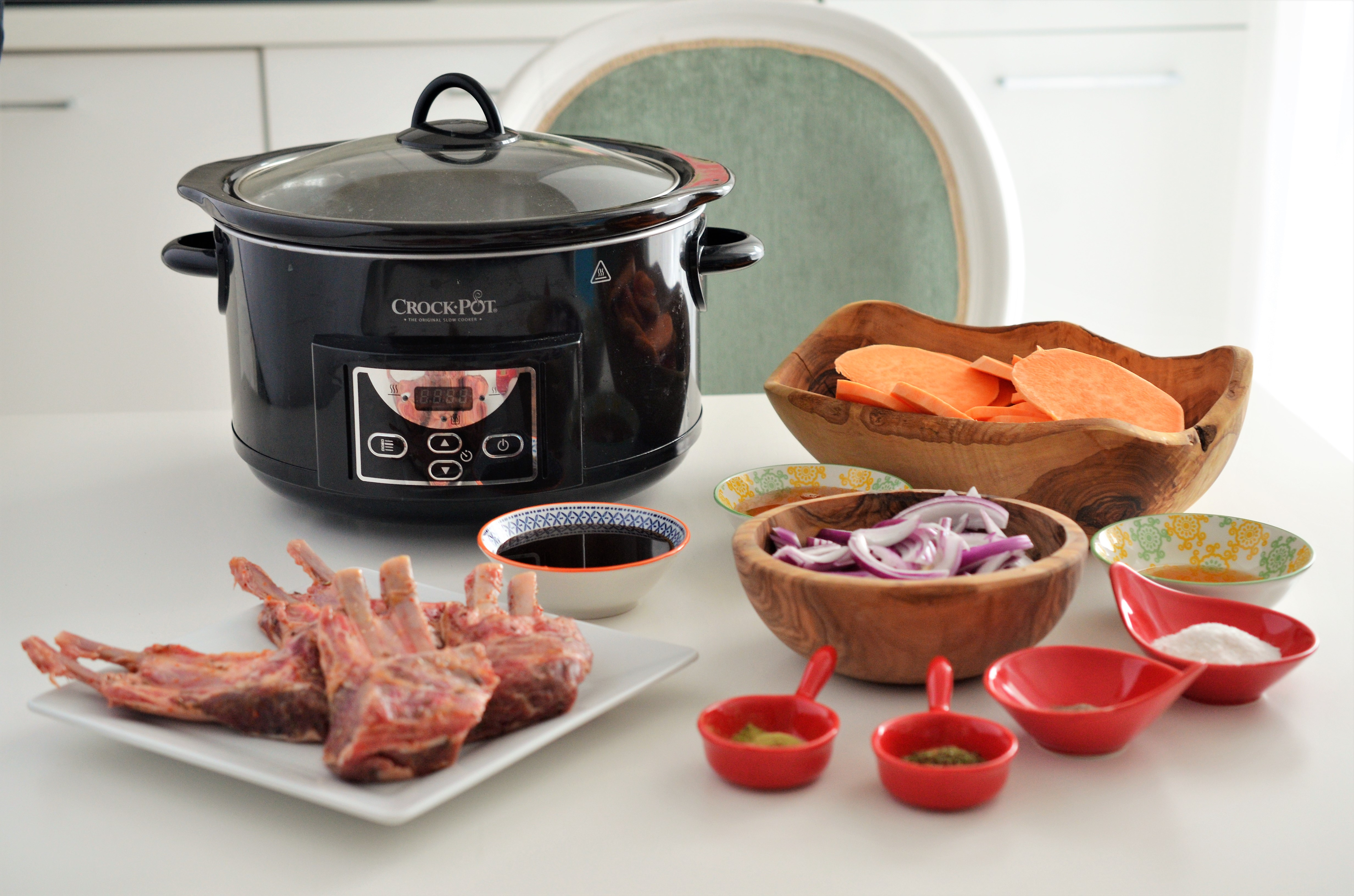 cotlet de miel la crock pot
