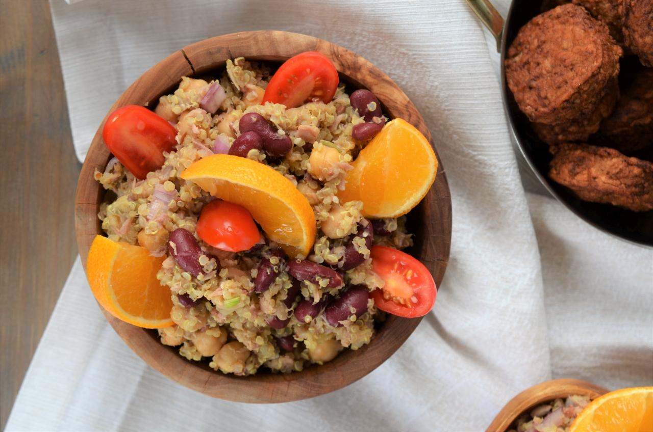 salata cu qunioa