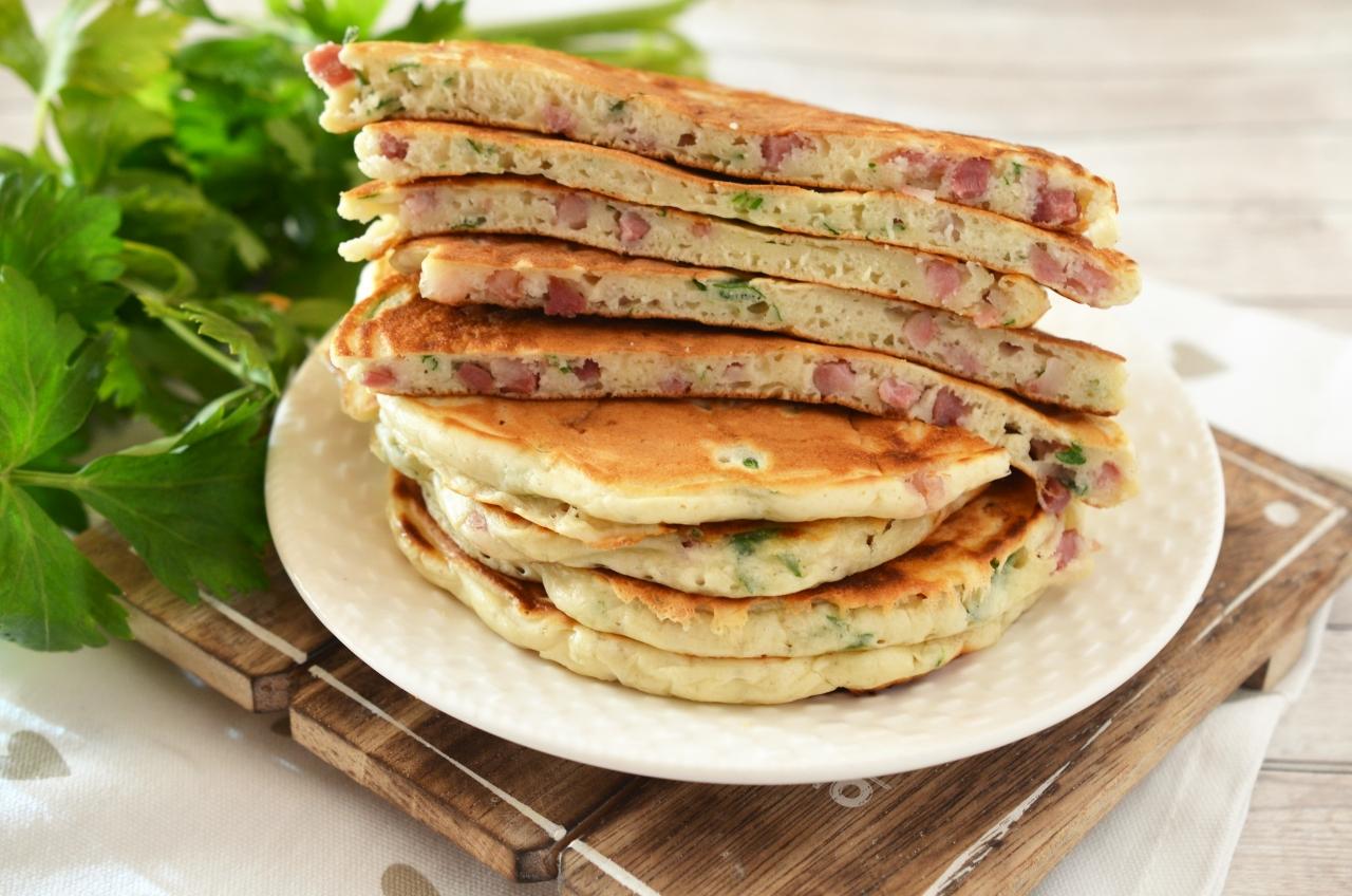 pancakes cu bacon