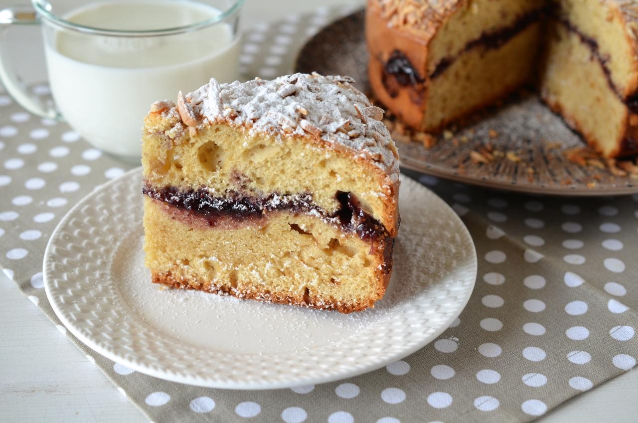 prajitura cu dulceata retata rapida de prajitura