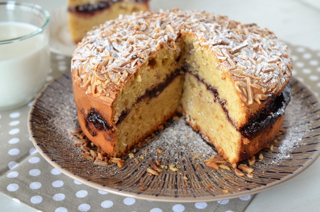 prajitura cu dulceata reteta rapida de prajitura