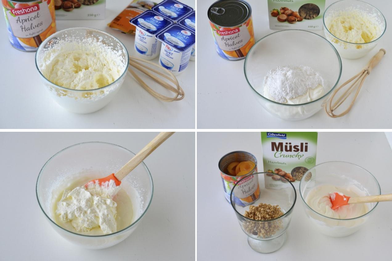 mousse de iaurt