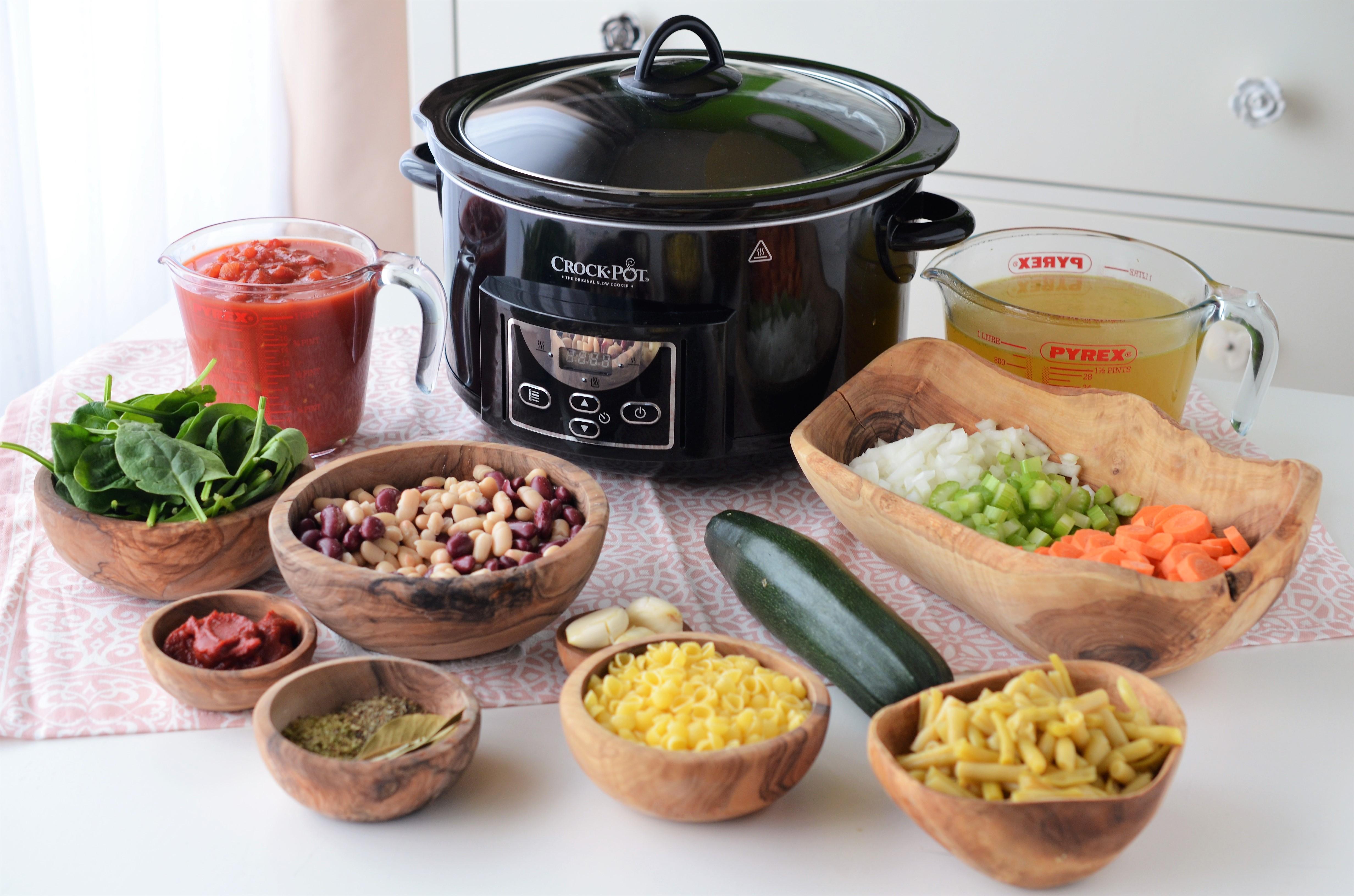 minestrone la slow cooker