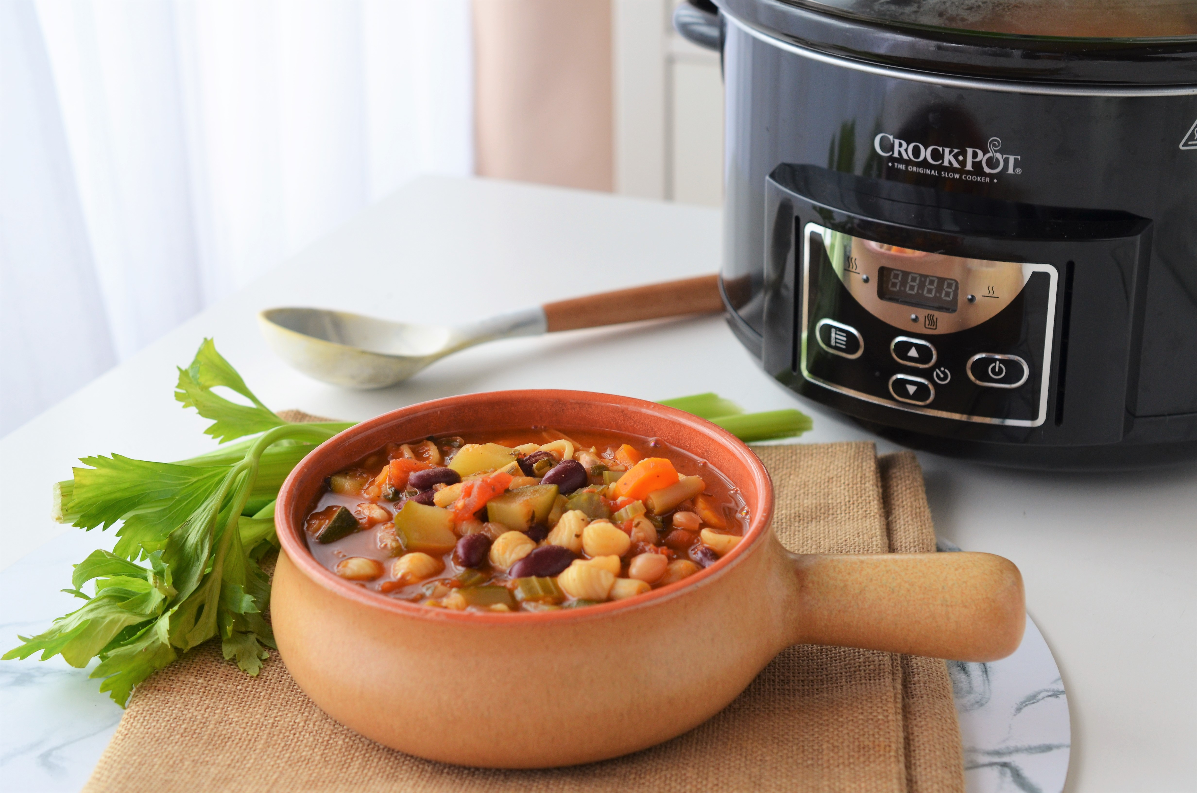 minestrone la crock pot