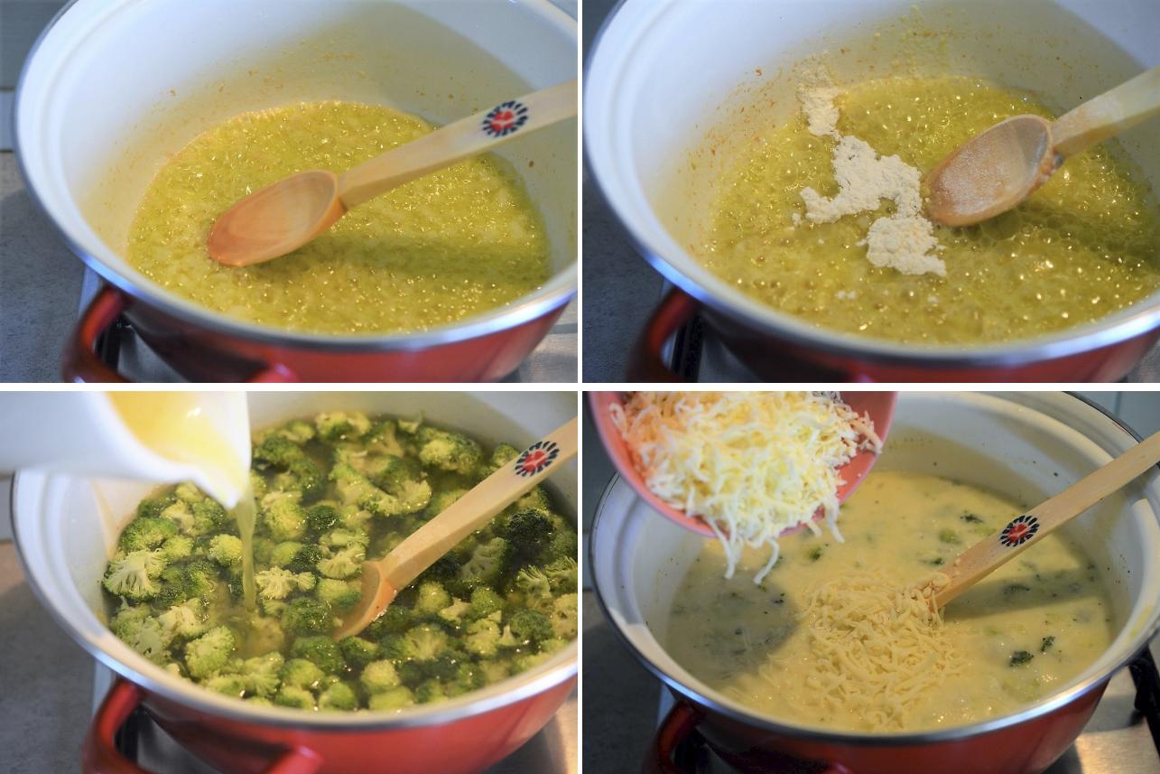 supa de broccoli cu cascaval