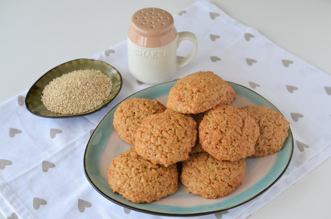 biscuiti cu quinoa