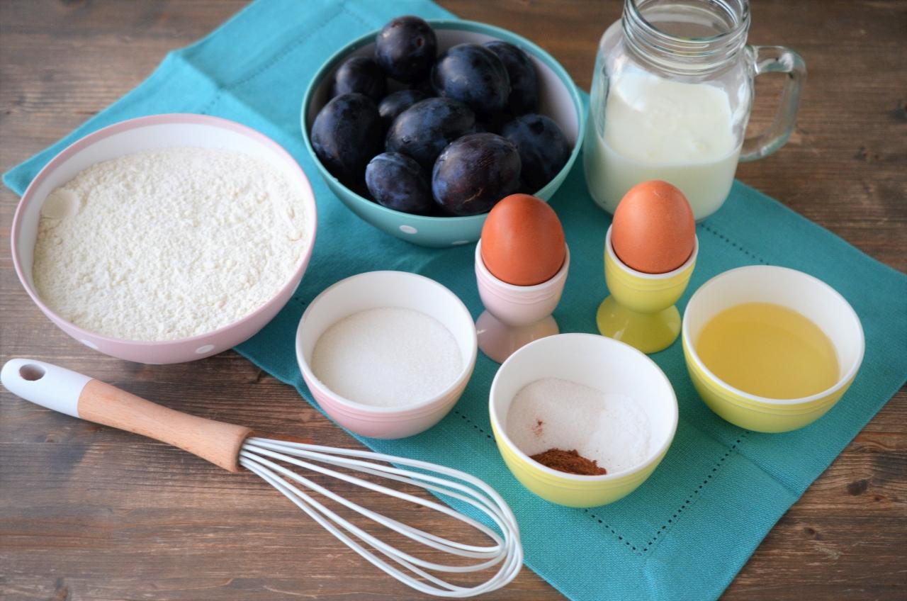 prajitura rapida cu prune