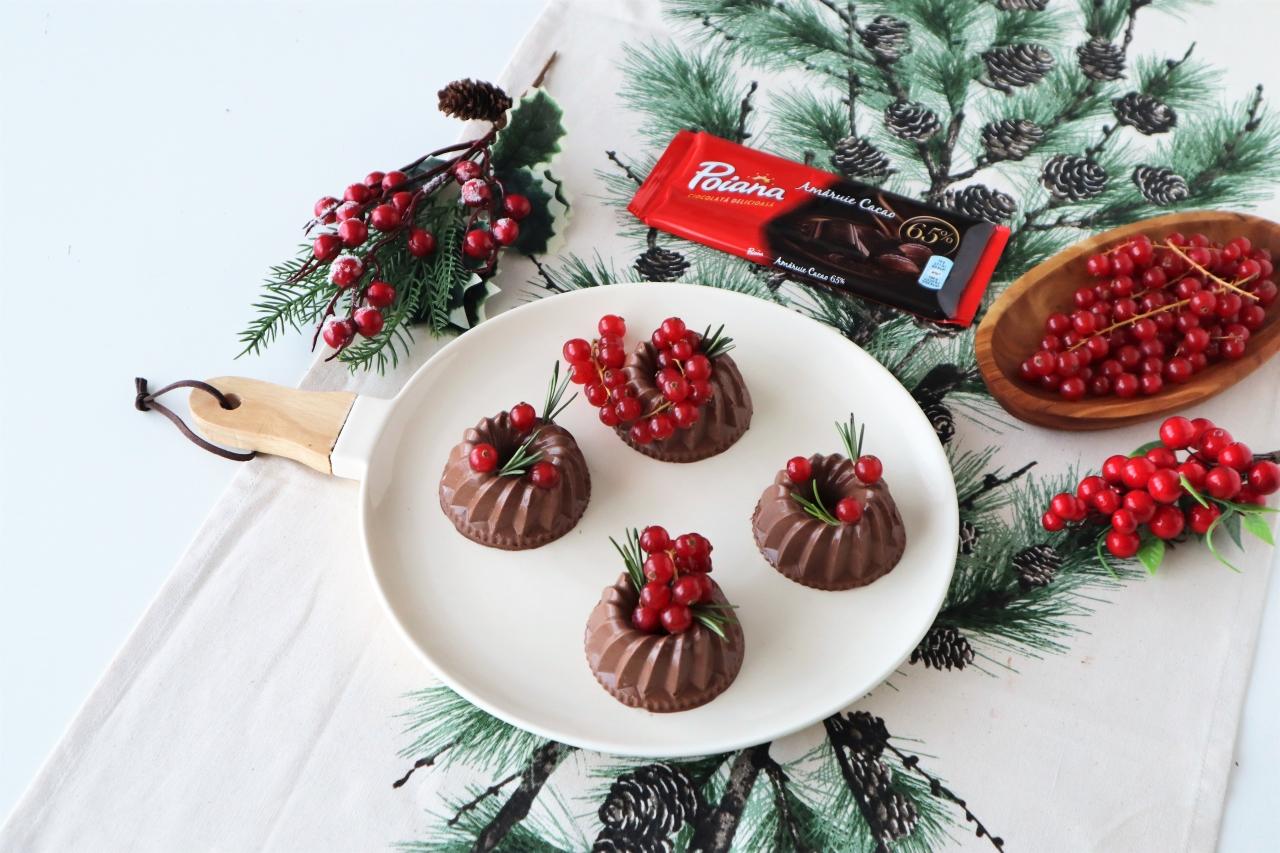 mousse de ciocolata cu fructe