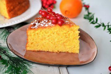 prajitura cu piure de portocale