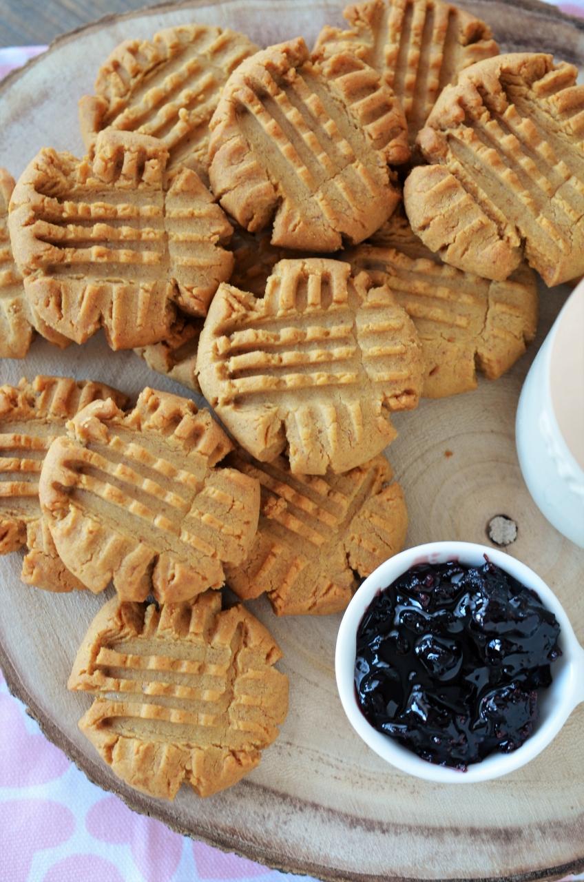 biscuiti cu unt de arahide