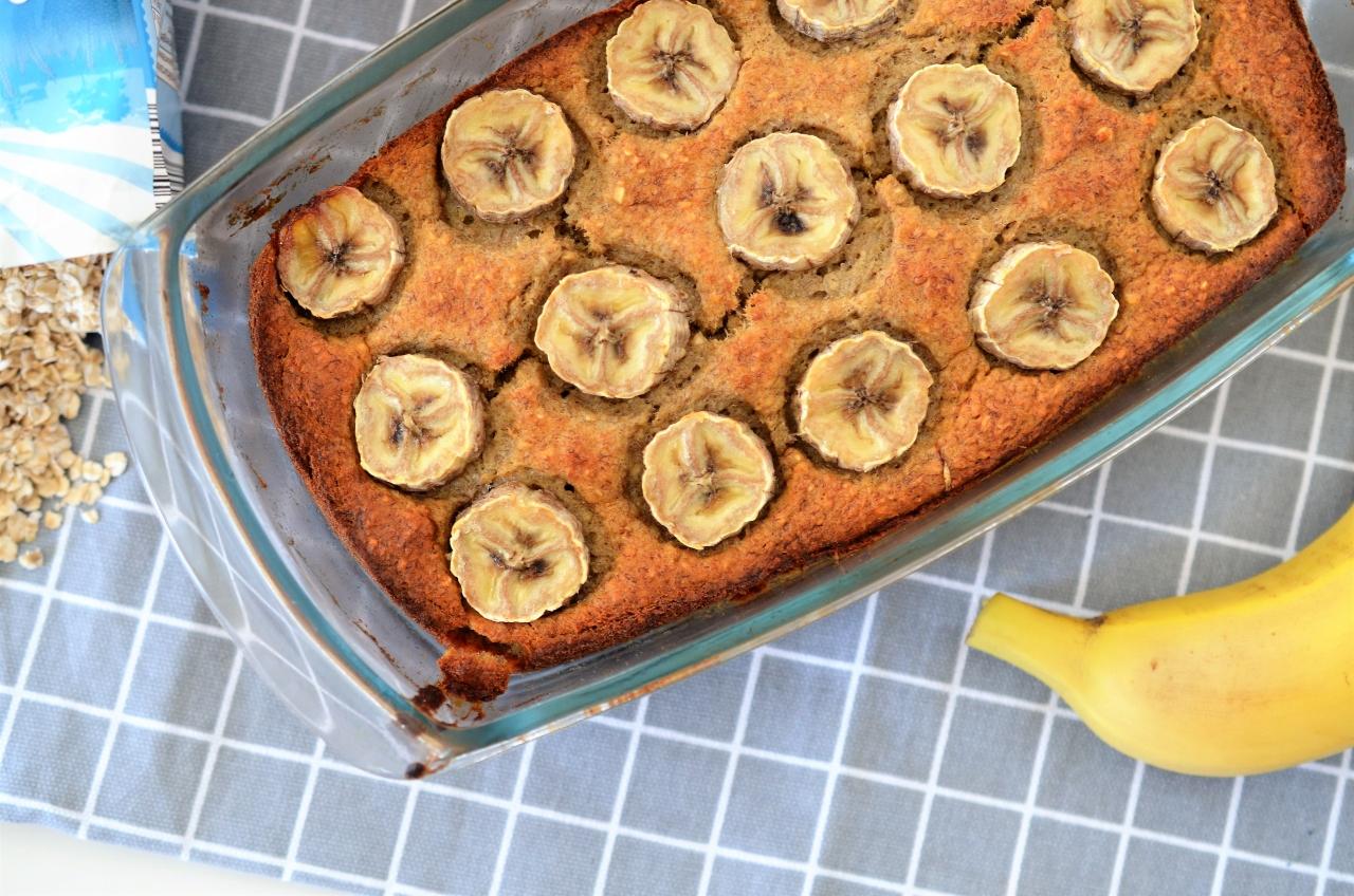 banana bread fara zahar si faina
