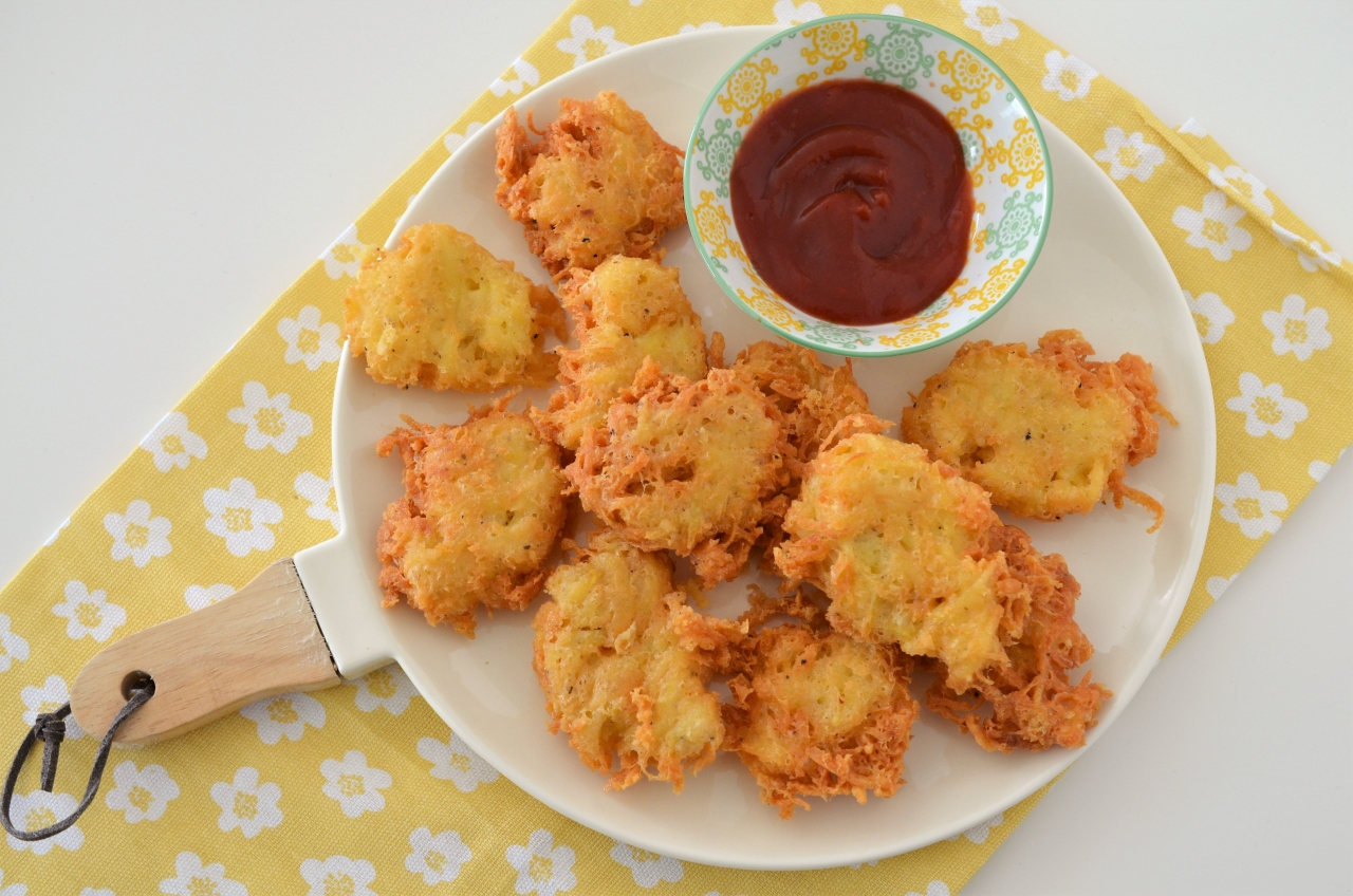 hash browns crochete de cartofi