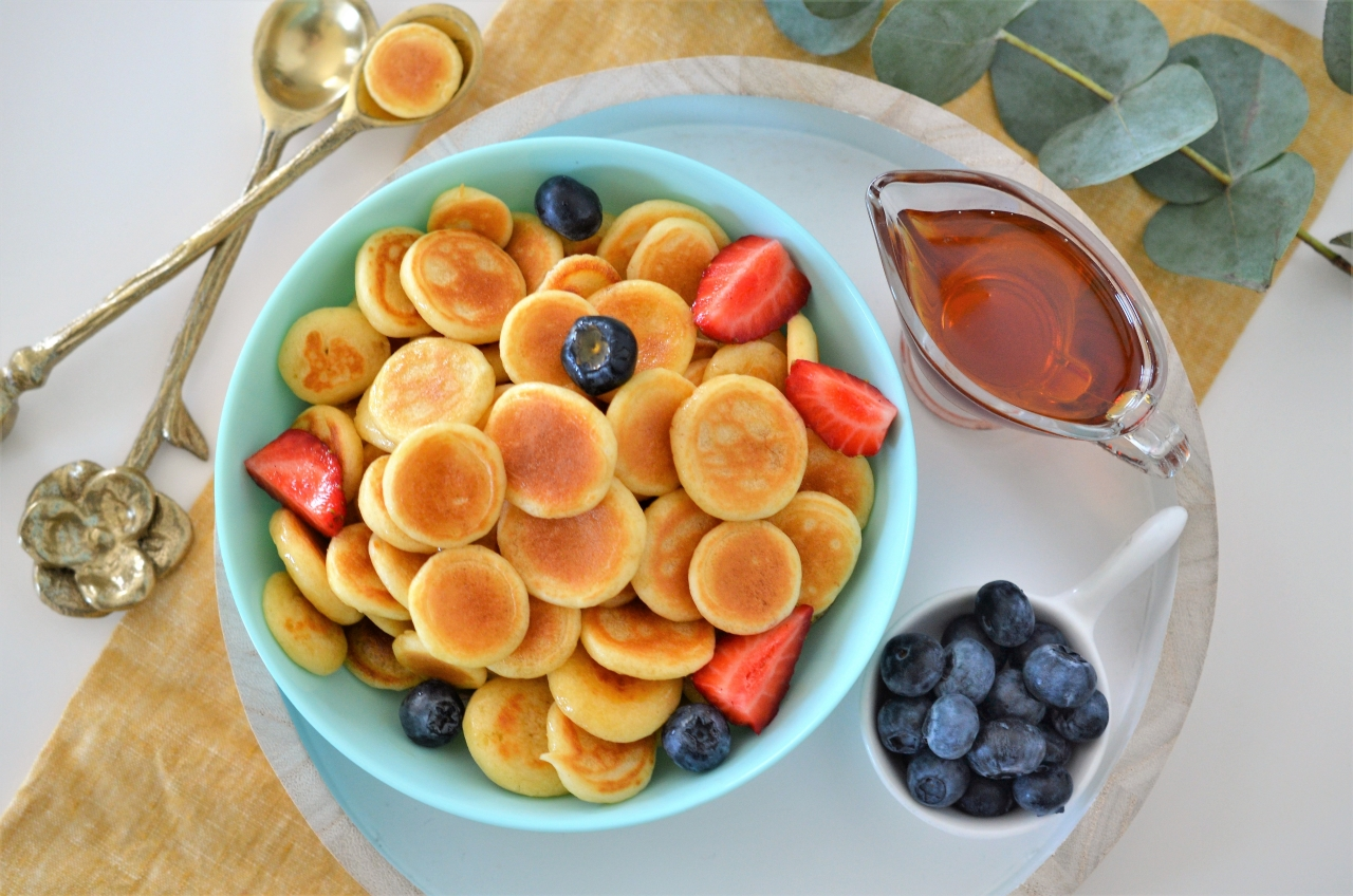 mini pancakes pancakes cereal