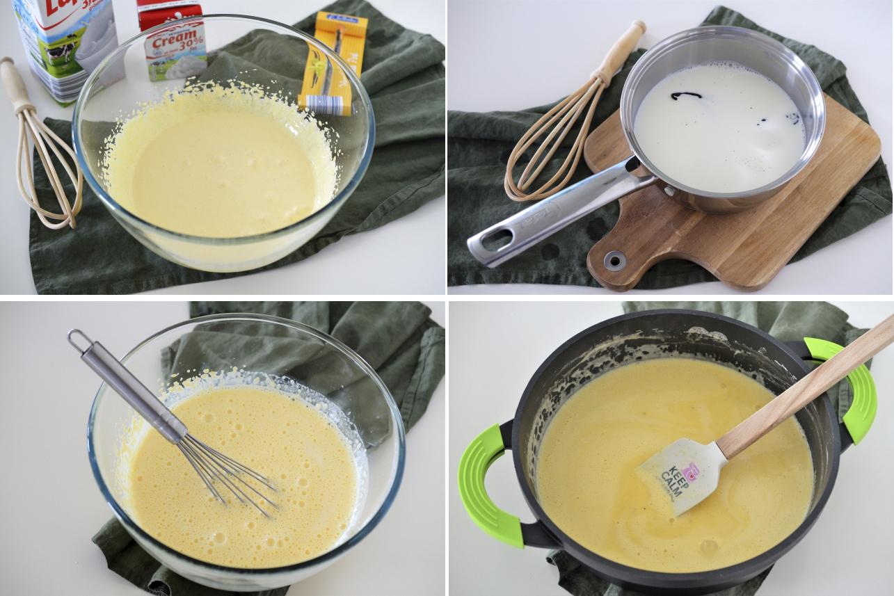 inghetata de vanilie facuta in casa