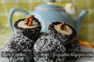 Prajiturele nuca de cocos