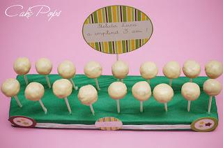 Cake pops (prajitura pe bat)