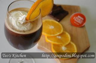 Cafea chocolate-orange