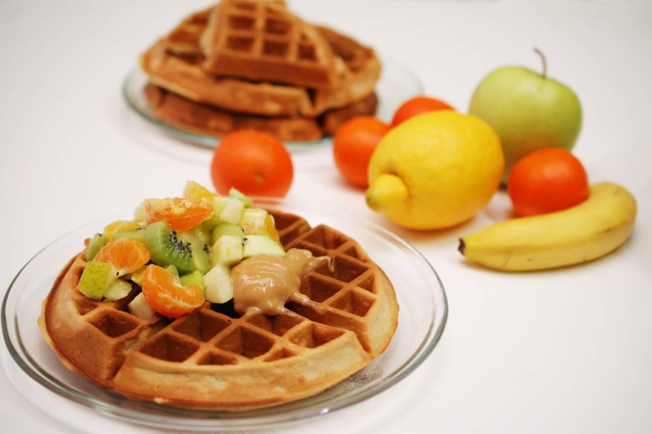 Waffles cu miere si scortisoara