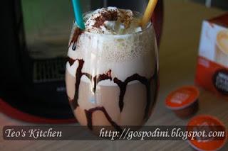 Milkshake cu inghetata si cafea