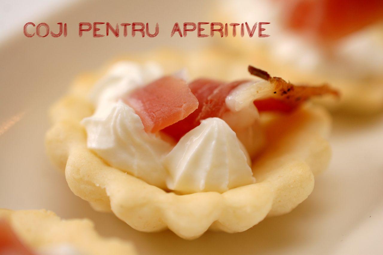 Barcute (coji) pentru aperitive