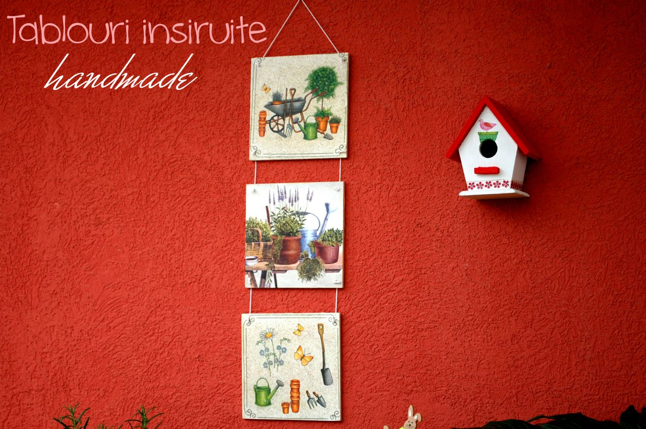 Tutorial decoupage: tablouri insiruite