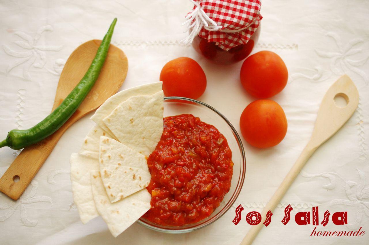Sos salsa facut in casa
