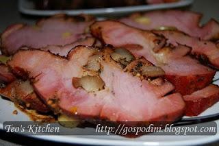 Pastrama de porc la cuptor